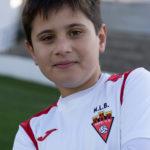 Rafa Morales jugador del Aspe UD Benjamín A