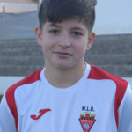 Rubén Hernández jugador del Aspe UD Cadete B