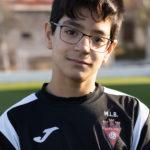 Rubén Torregrosa jugador del Aspe UD Alevín C