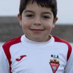 Sergio Botella jugador del Aspe UD Benjamín B