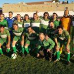 Equipo del Elche CF Veteranos que participó en el Homenaje a López Botella