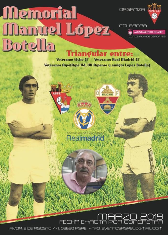 Cartel del Homenaje a López Botella