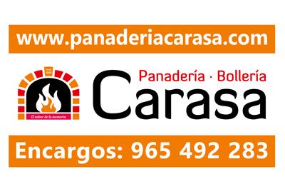 Panadería Carasa colaborador del Aspe Unión Deportiva Club de Fútbol