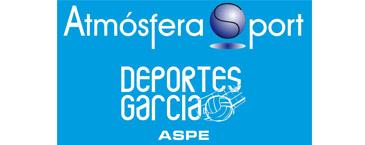 Atmósfera Sport Deportes García colaborador del Aspe Unión Deportiva Club de Fútbol