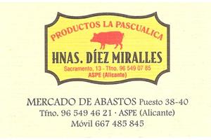 Hermanas Díez Miralles Patrocinador del Aspe Unión Deportiva