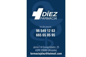 Farmacia Díez Aspe Patrocinador del Aspe Unión Deportiva