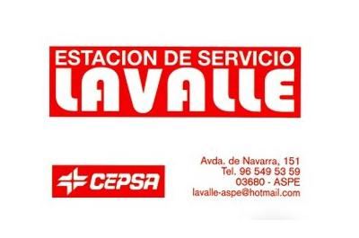 Estación de Servicio Lavalle de Aspe , colaborador del Aspe Unión Deportiva Club de Fútbol