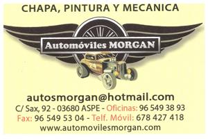 Automóviles Morgan Patrocinador del Aspe Unión Deportiva