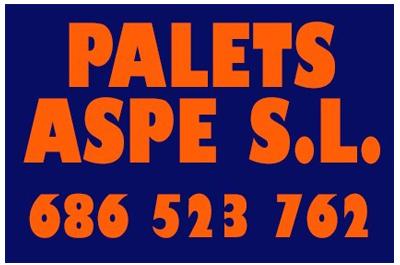 Palets Aspe S.L. Patrocinador del Aspe Unión Deportiva
