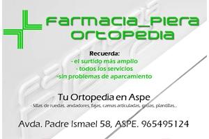 Farmacia Piera Aspe Patrocinador del Aspe Unión Deportiva