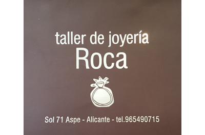 Taller de Joyería Roca Patrocinador del Aspe Unión Deportiva