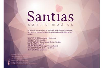 Centro Médico Santías Patrocinador del Aspe Unión Deportiva