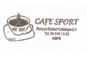 Cafe Sport Aspe Patrocinador del Aspe Unión Deportiva