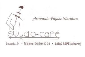 Studio Café Aspe Patrocinador del Aspe Unión Deportiva