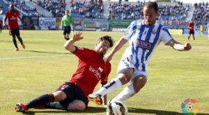 Álvaro Garcia en su época en el CD Leganés en 2ª División
