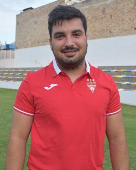 Juan Manuel Gómez Rico es entrenador del Aspe UD