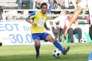 Álvaro García en su etapa en el Cádiz CF