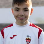 Aaron Herrero jugador del Aspe UD Alevín A