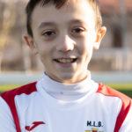 Alejandro Pérez jugador del Aspe Ud Alevín B