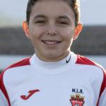 ALEJO ANTON VEGA Jugador del Aspe UD INFANTIL B