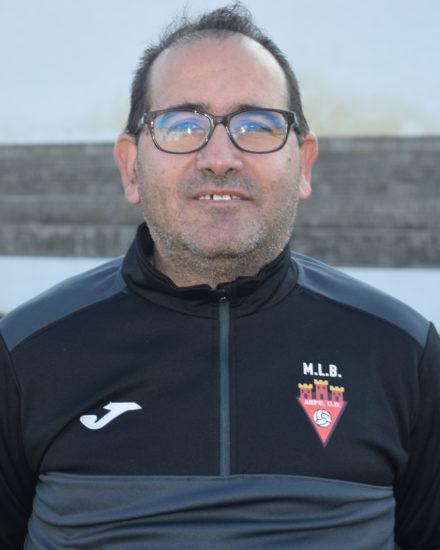 Bernardo García Ortiz es delegado del equipo Alevín B del Aspe Unión Deportiva .
