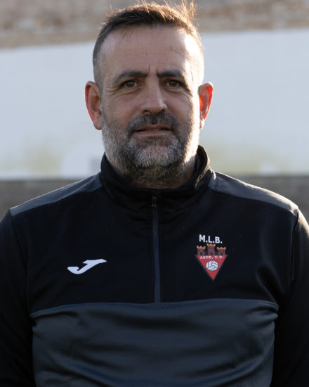 Vicente Martinez Botella - Coco entrenador del Infantil B del Aspe UD