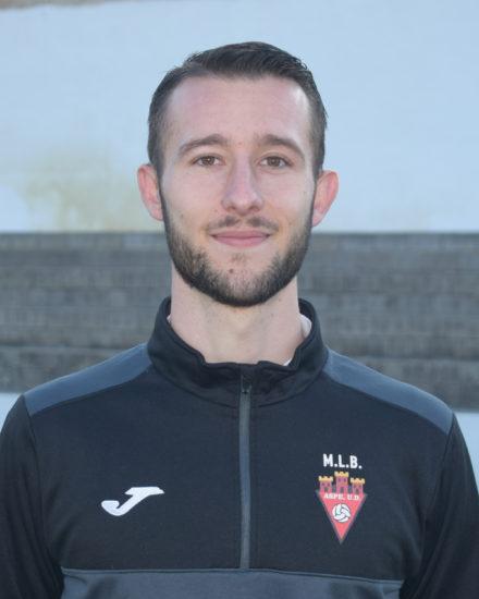 Fernando Abad Erades entrenador del equipo Alevín A del Aspe Unión Deportiva.