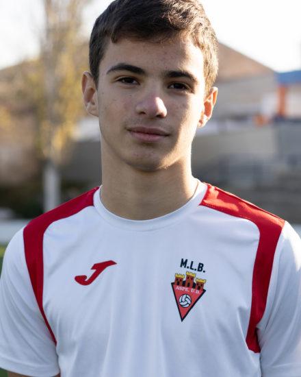 GABRIEL GARCIA DE LA SERRANA PEREZ jugador del Aspe UD Infantil B