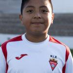 Iker Javier Puglia jugador del Aspe UD Alevín A