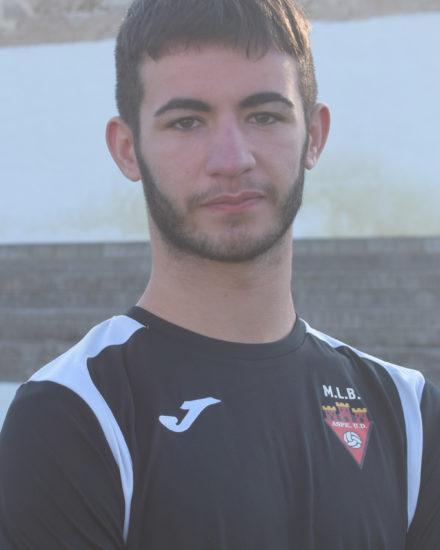Isidoro Gomez Pomares jugador del Aspe Unión Deportiva Juvenil