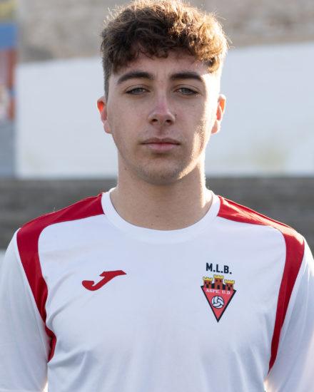 Ismael Rodríguez jugador del ASpe UD Juvenil A