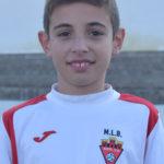 Iván Cañizares jugador del Aspe UD Alevín B