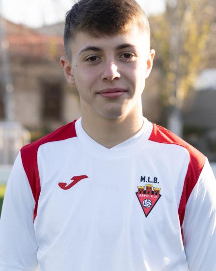 Jorge Navarro Pomares es jugador del Aspe UD Infantil A