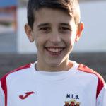 Jorge Aznar Molina jugador del Aspe UD Alevín A