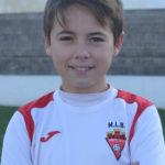 Jose Luis Trigueros jugador del Aspe UD Alevín A