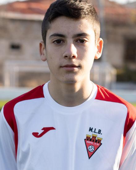 Manuel Gómez jugador del Aspe UD Infantil B
