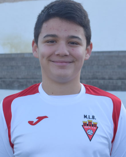 MARCO PALAZON CABEZUELO jugador del Aspe UD Infantil B