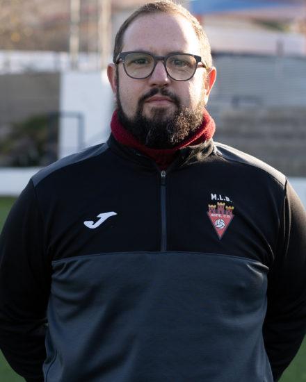 Pedro Torres es entrenador del Juvenil del Aspe Unión Deportiva