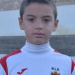 José Mira jugador del Aspe UD Alevín B