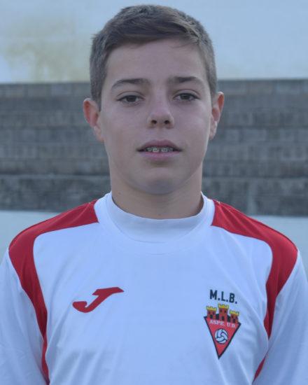 Rafael Botella Ros es jugador del Aspe UD Cadete A