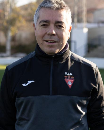 Sergio Botella Lopez es delegado del Infantil A del Aspe Unión Deportiva.
