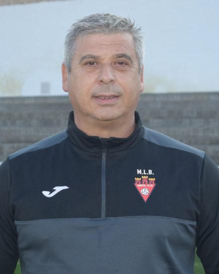 Antonio Vicedo Sánchez es entrenador del Infantil A del Aspe Unión Deportiva