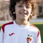 Victor David Herrero jugador del Aspe UD Alevín B