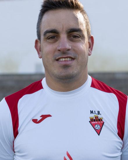 Antonio López Pavía es jugador del equipo Veteranos del Aspe UD