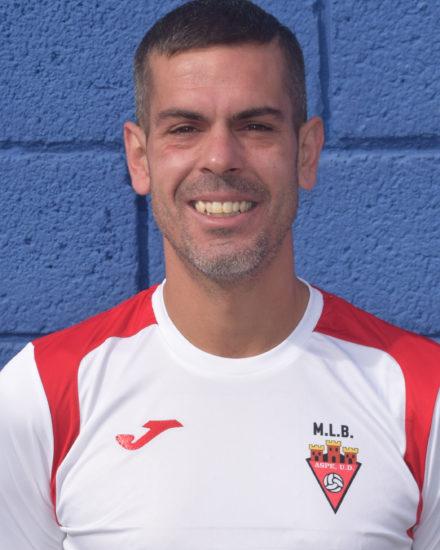 Borja Alcarazes jugador del equipo Veteranos del Aspe UD