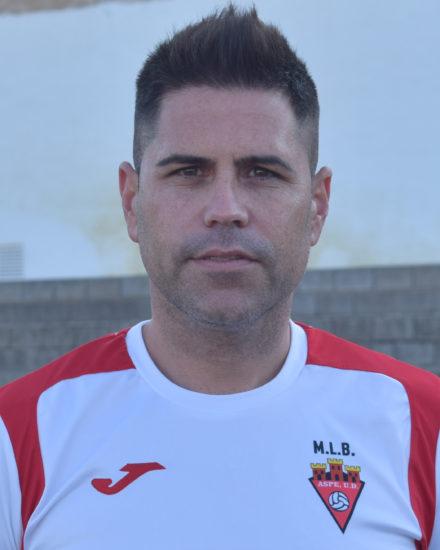 Carlos Hernández es jugador del equipo Veteranos del Aspe Unión Deportiva