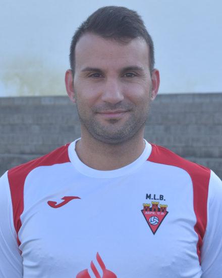 Jose Luis Cerezo es jugador del equipo Veteranos del Aspe UD