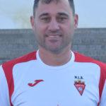 Abel Pérez Cremades, Copi, es jugador del equipo Veteranos del Aspe UD