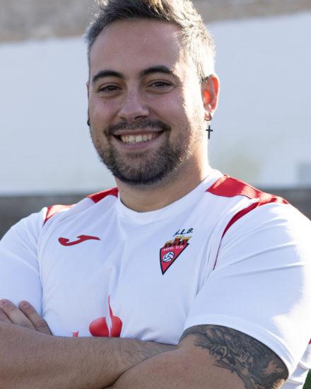 Daniel Cano es jugador del equipo Veteranos del Aspe UD