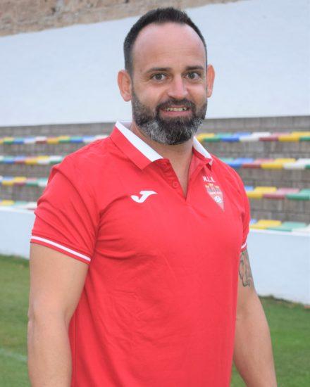 Antonio González Martínez es entrenador de porteros del Cadete B del Aspe Unión Deportiva.